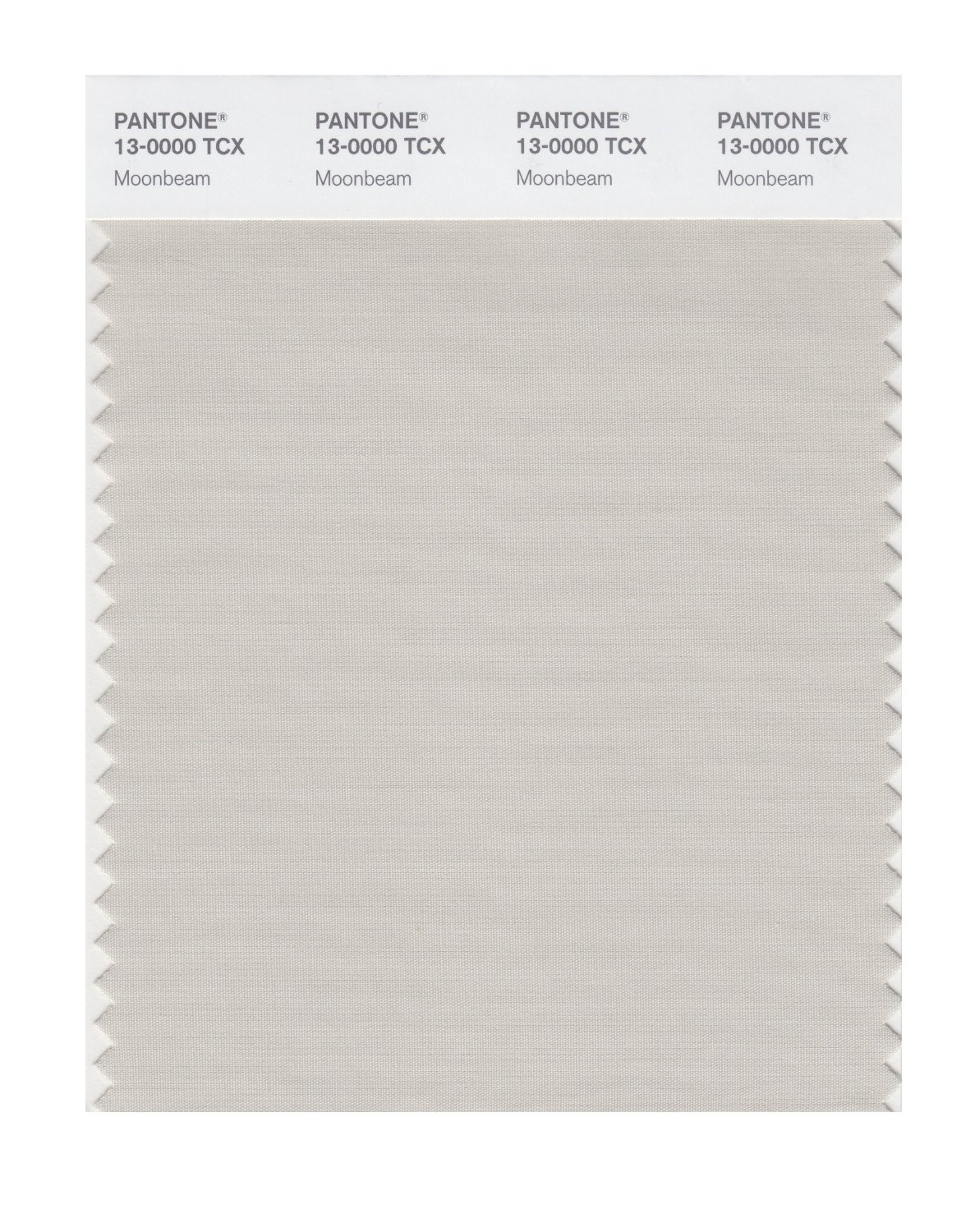 Pantone Smart Swatch 13-0000 Moonbeam