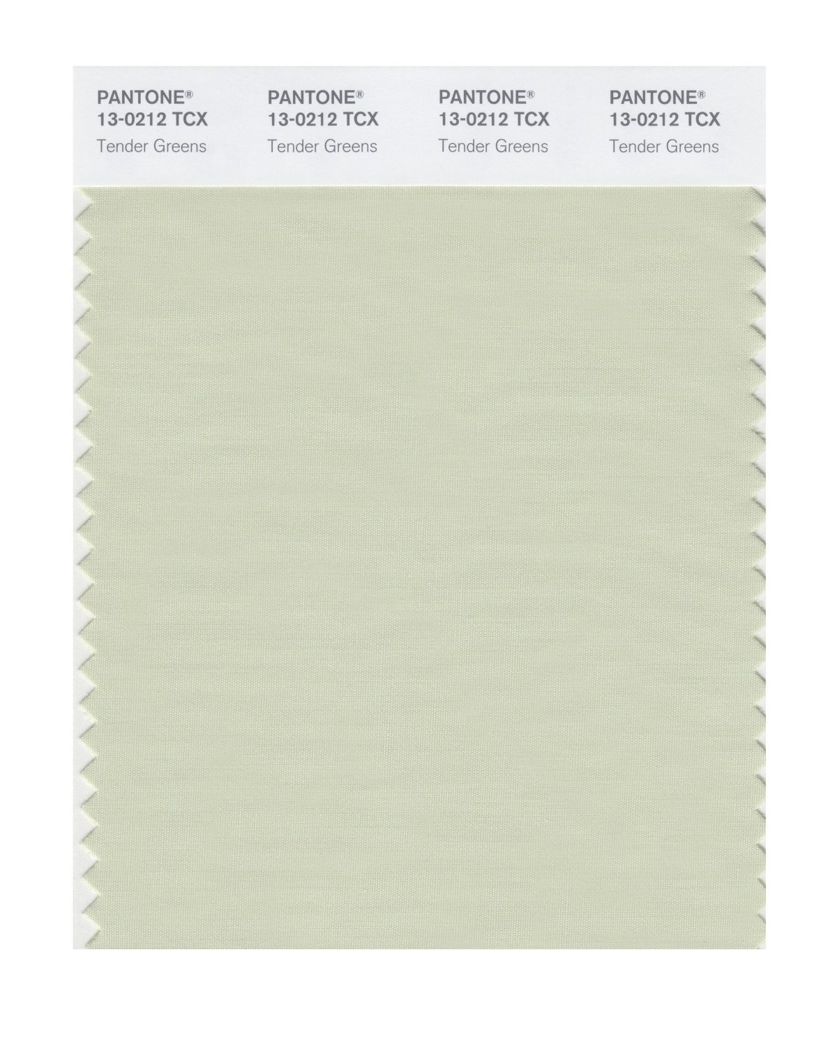 Pantone Smart Swatch 13-0212 Tender Greens