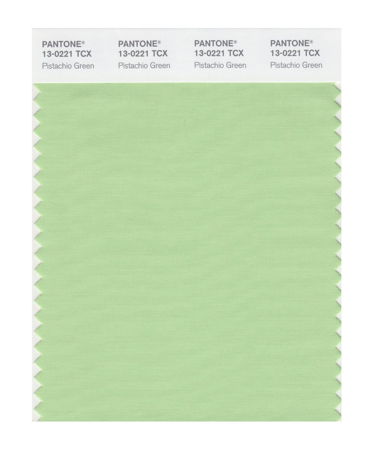 Pantone Smart Swatch 13-0221 Pistachio Green