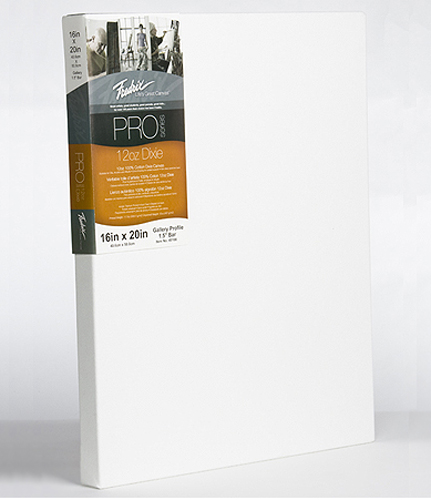Fredrix Pro Dixie Stretched Canvas