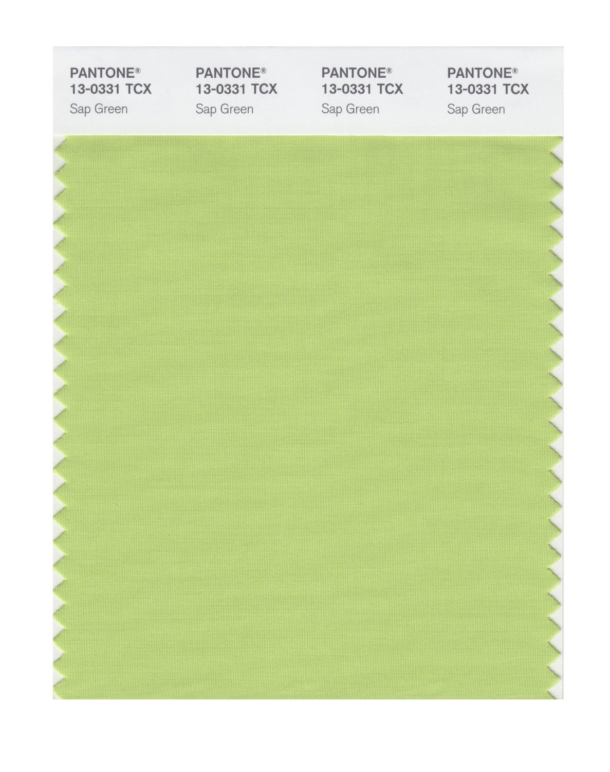 Pantone Smart Swatch 13-0331 Sap Green