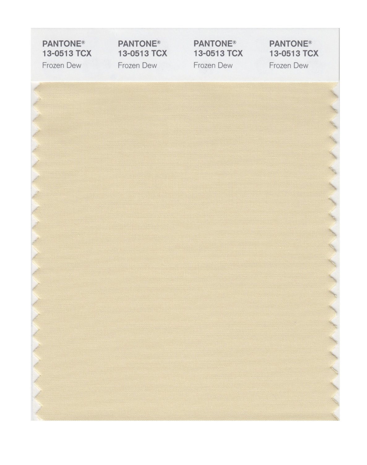 Pantone Smart Swatch 13-0513 Frozen Dew