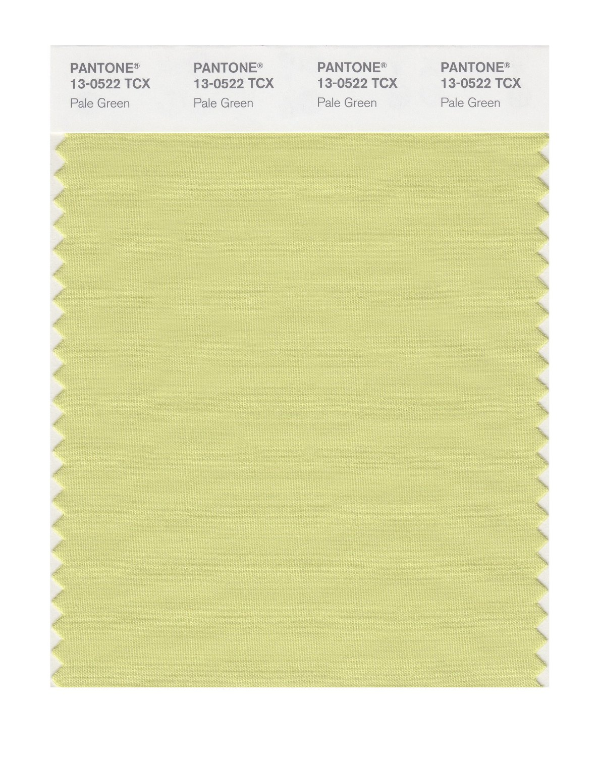 Pantone Smart Swatch 13-0522 Pale Green