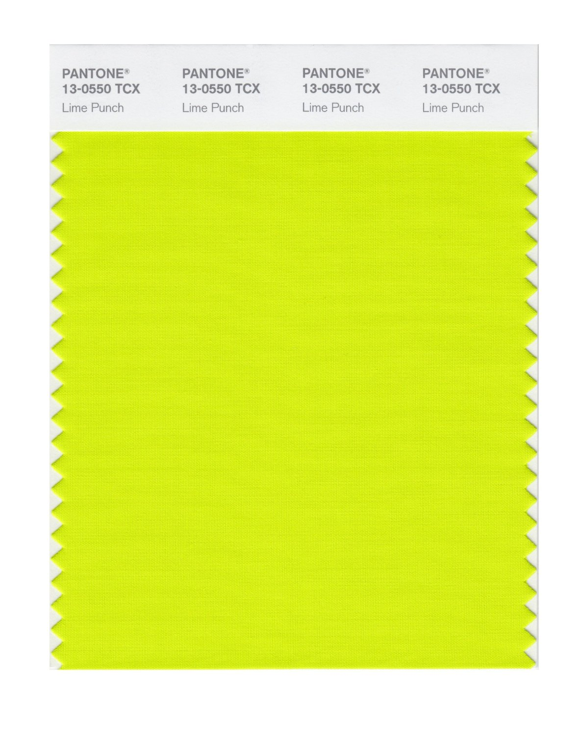 Pantone Smart Swatch 13-0550 Lime Punch