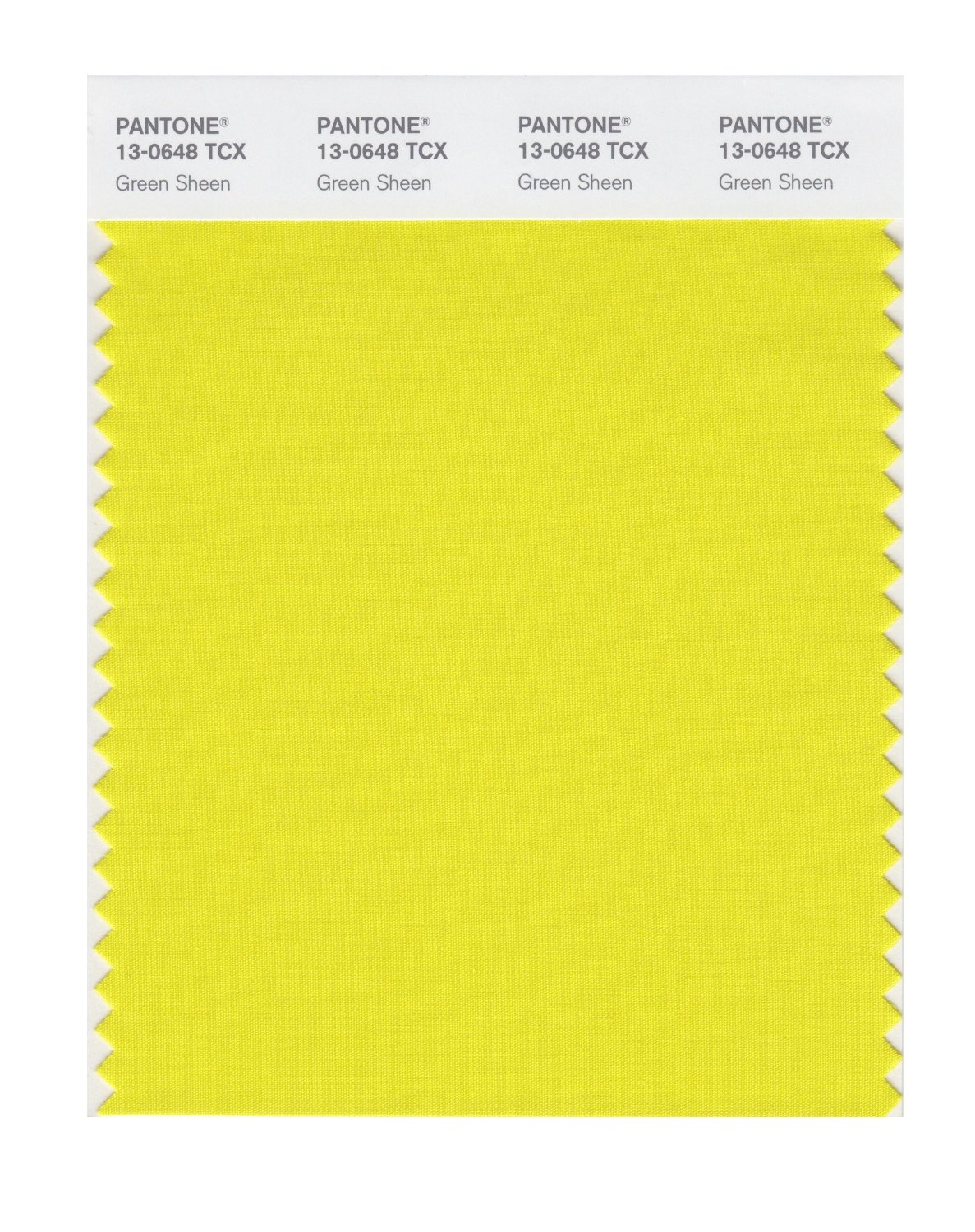 Pantone Smart Swatch 13-0648 Green Sheen