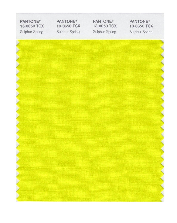 Pantone Yellow Buy Pantone Smart Swatch 13 0650 Sulphur Spring