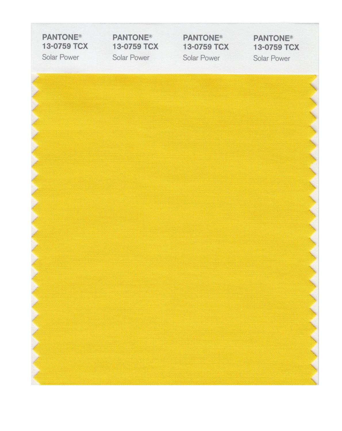 Pantone Smart Swatch 13-0759 Solar Power