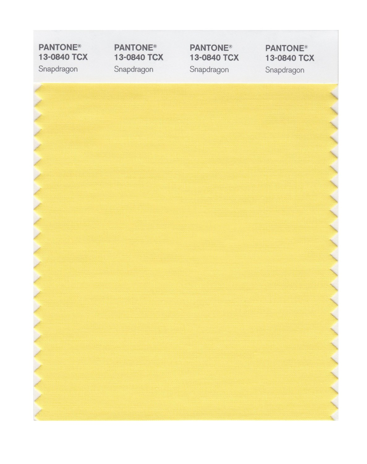 Pantone Smart Swatch 13-0840 Snapdragon