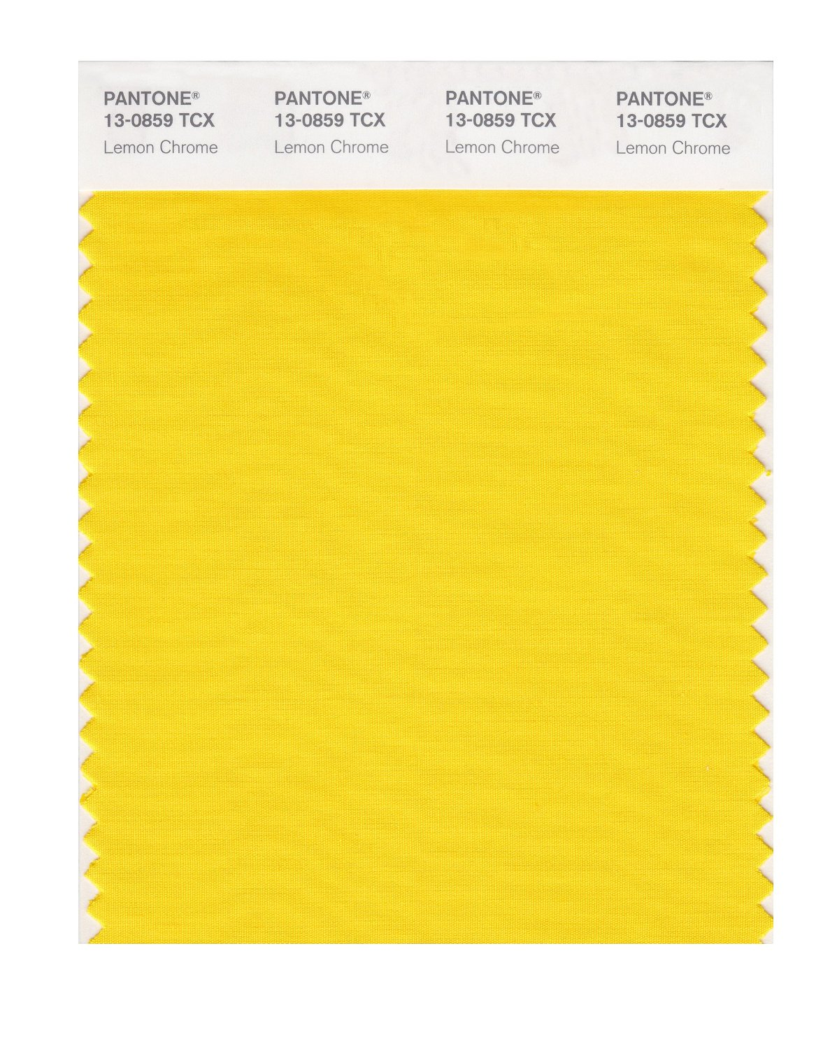 Pantone Smart Swatch 13-0859 Lemon Chrome