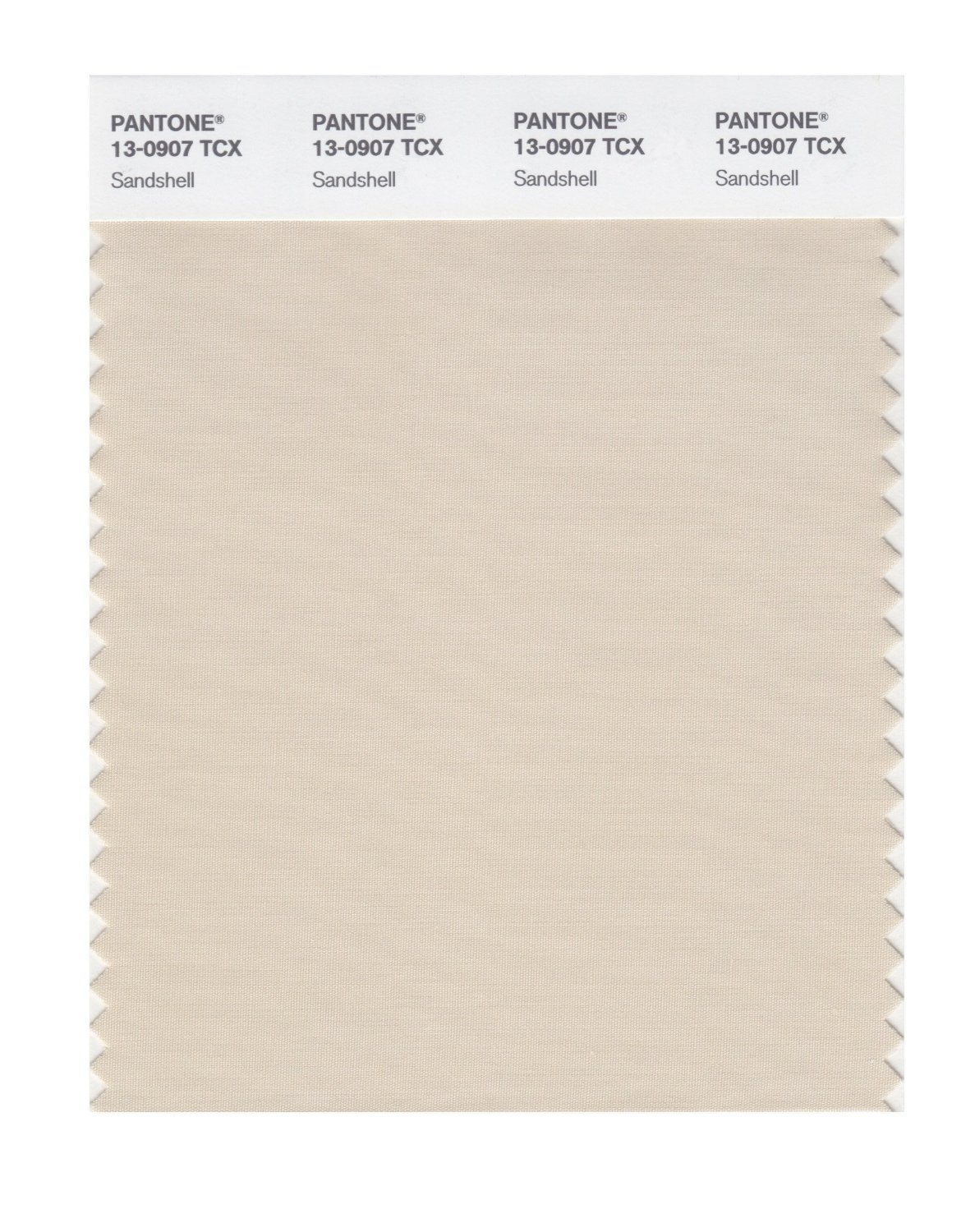 Pantone Smart Swatch 13-0907 Sandshell