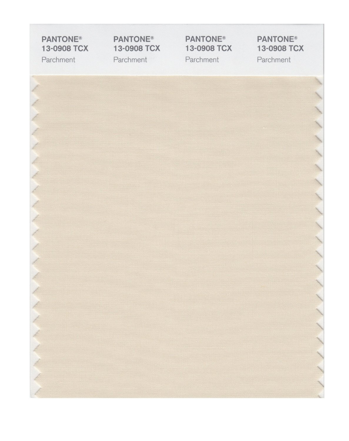 Pantone Smart Swatch 13-0908 Parchment