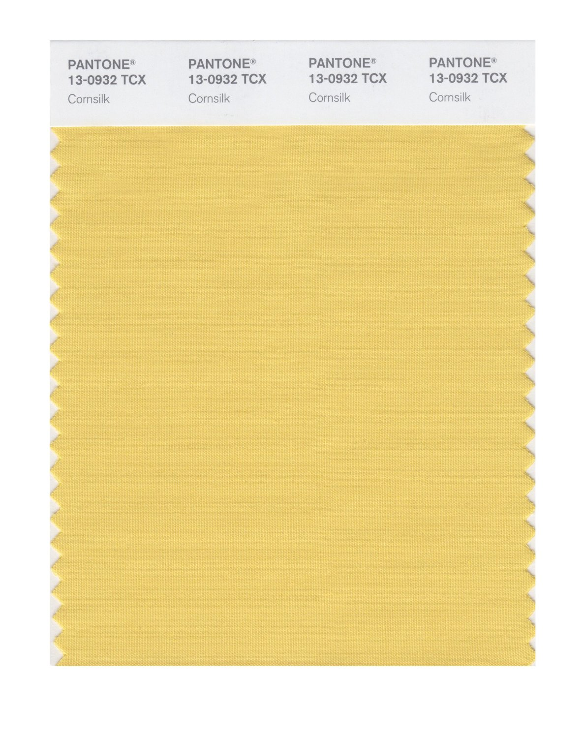 Pantone Smart Swatch 13-0932 Cornsilk