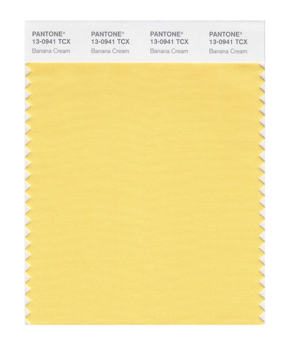 Pantone Smart Swatch 13-0941 Banana Cream