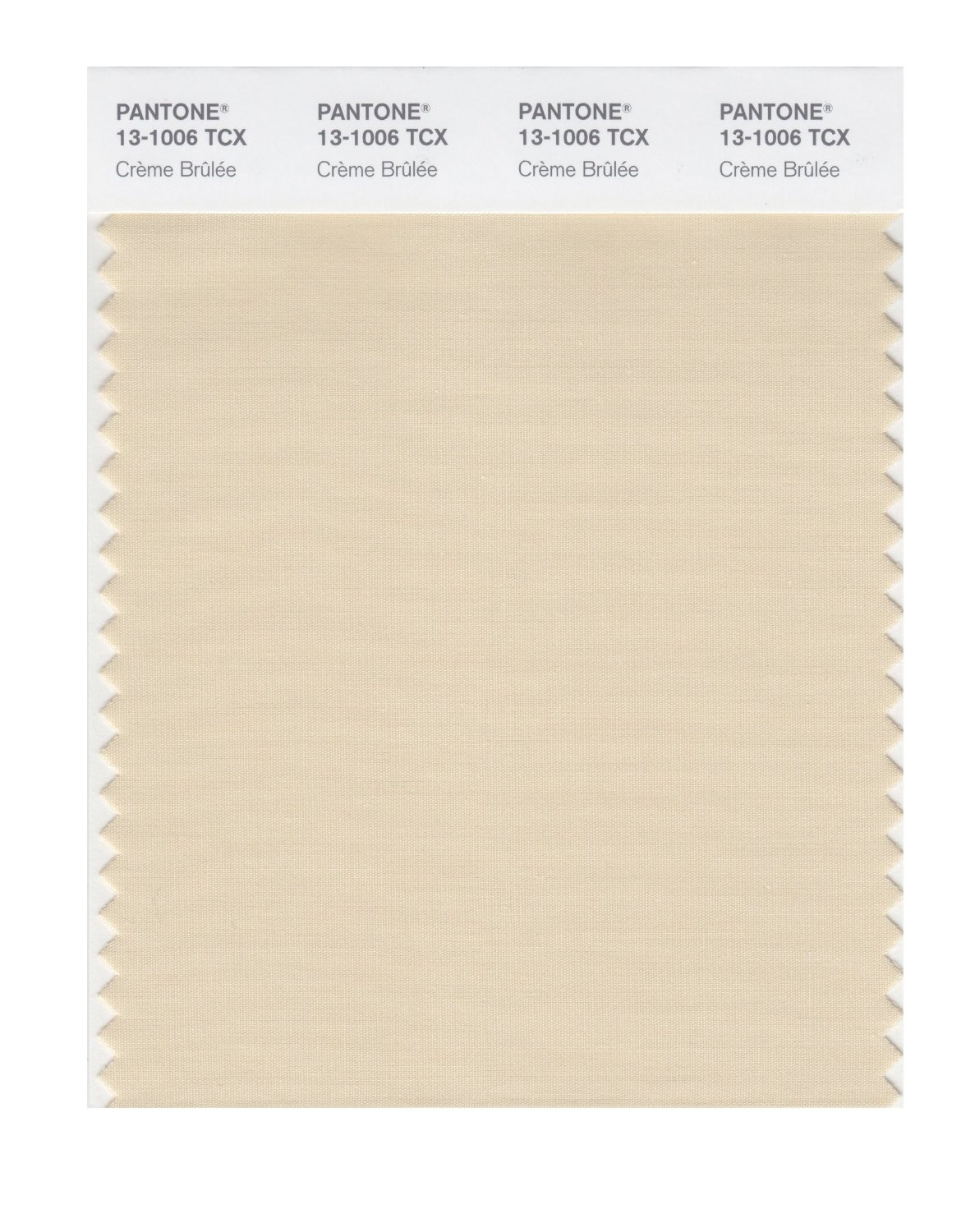 Pantone Smart Swatch 13-1006 Creme Brulee