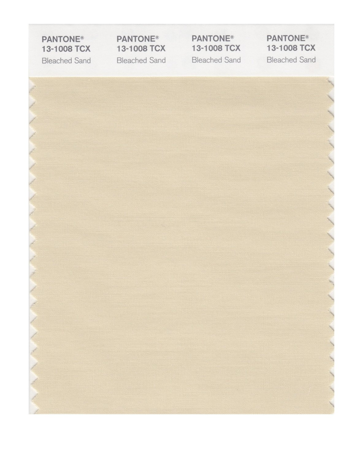 Pantone Smart Swatch 13-1008 Bleached Sand