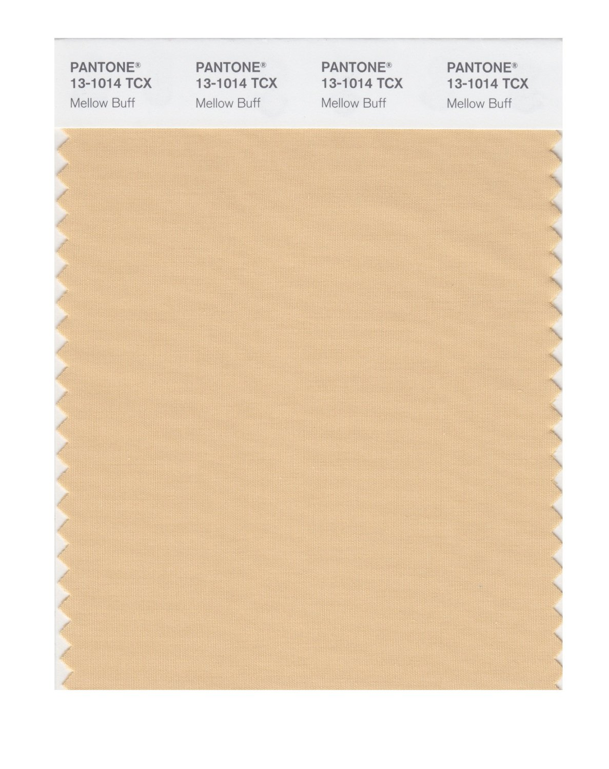 Pantone Smart Swatch 13-1014 Mellow Buff