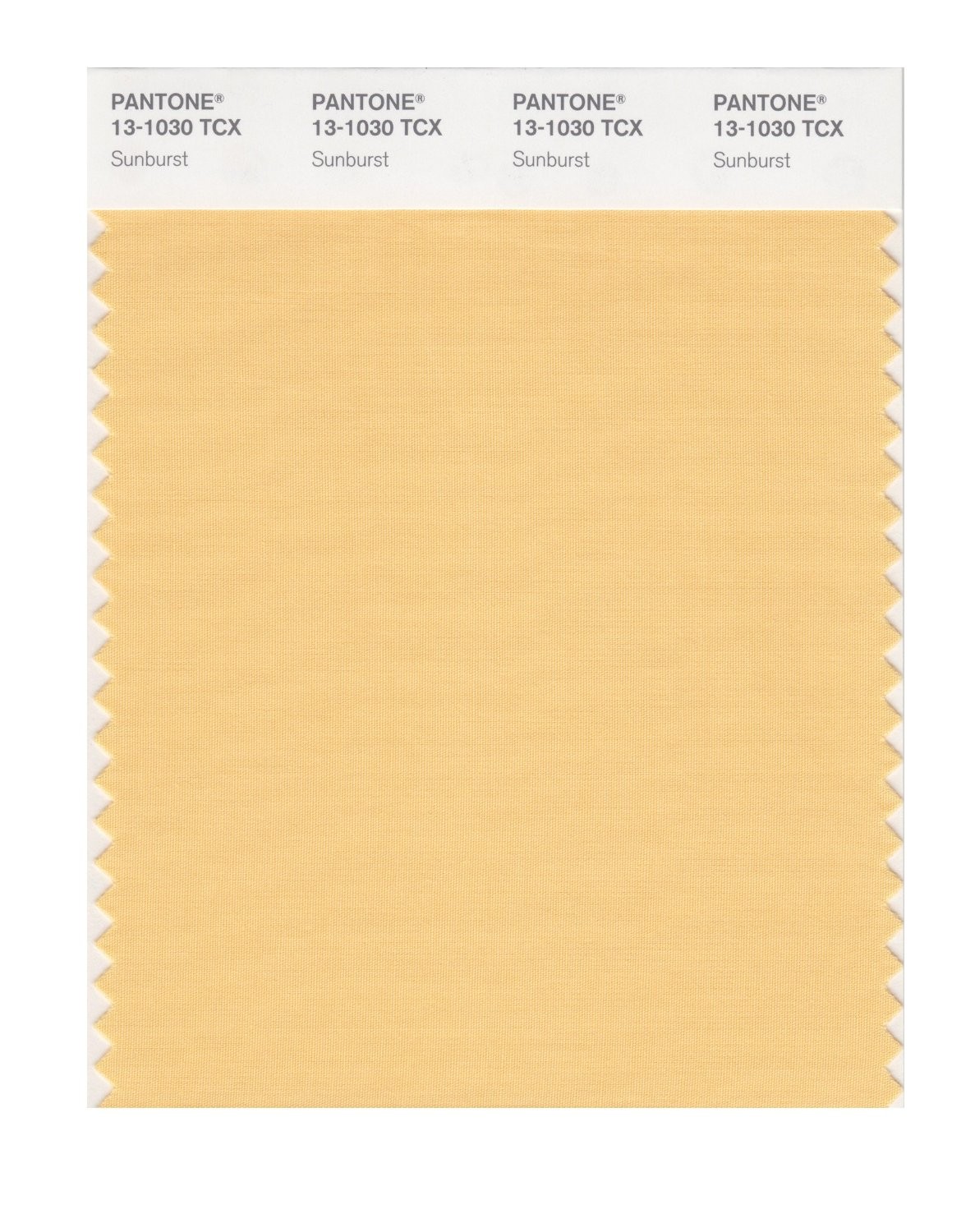 Pantone Smart Swatch 13-1030 Sunburst
