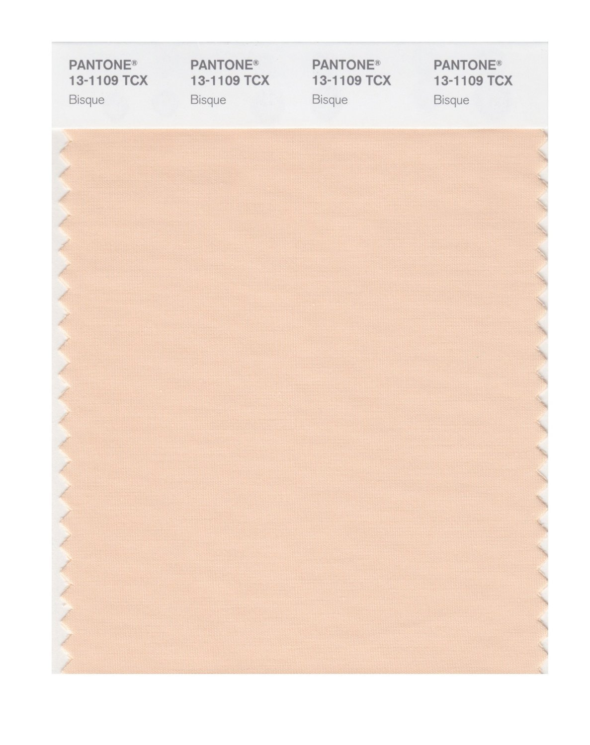 Pantone Smart Swatch 13-1109 Bisque