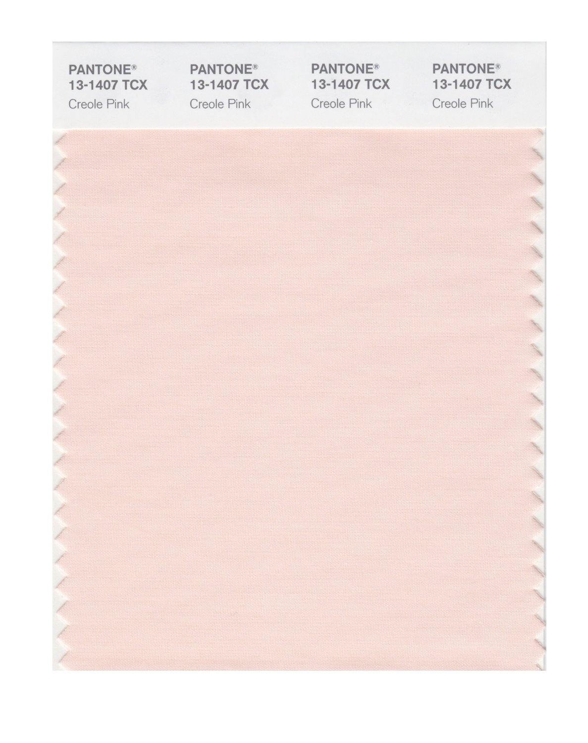 Pantone Smart Swatch 13-1407 Creole Pink