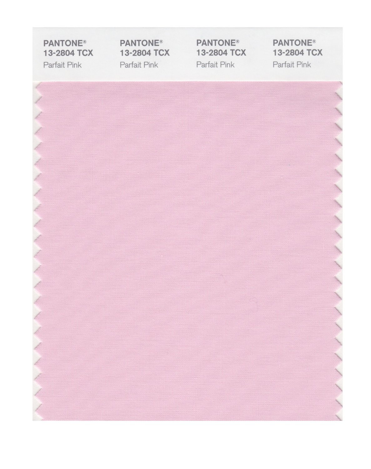 Pantone Smart Swatch 13-2804 Parfait Pink