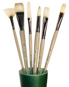 Simmons Signet Natural Bristle Brushes