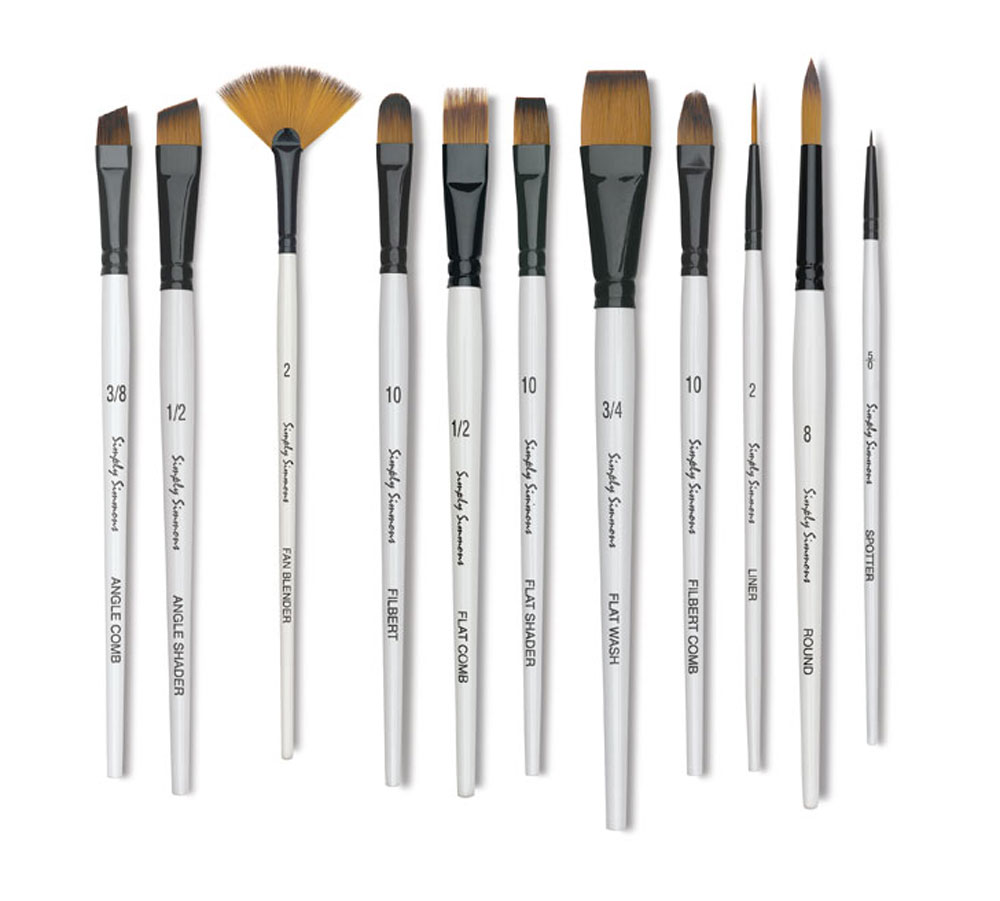 Buy Oil Acrylic Brushes By Davinci Winsor Newton Simmons Princeton