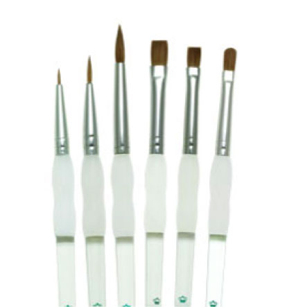 Royal & Langnickel Soft-Grip Sable Brushes