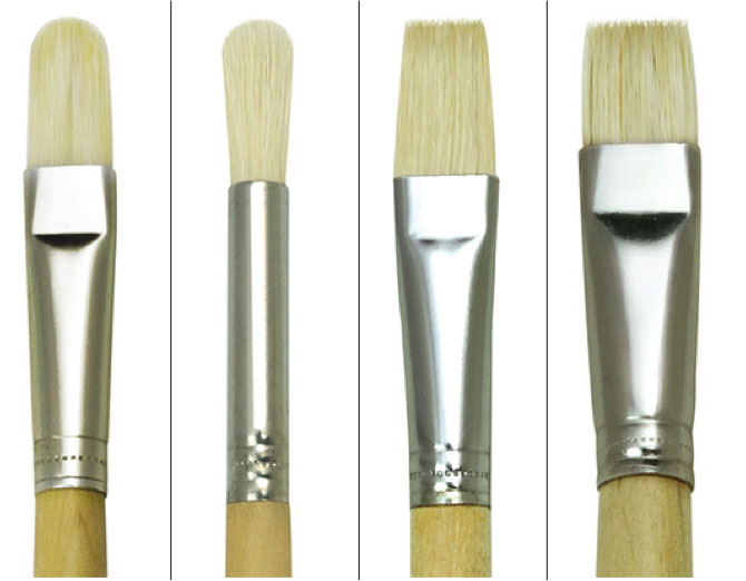 Royal China Bristle Brushes