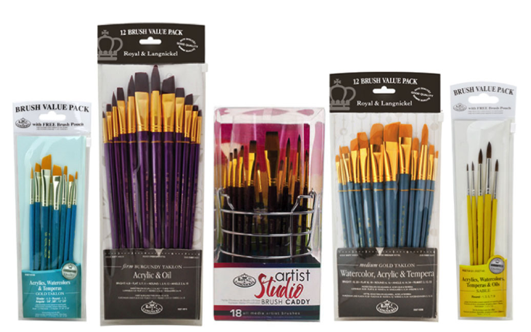 Royal & Langnickel Value Brush Sets