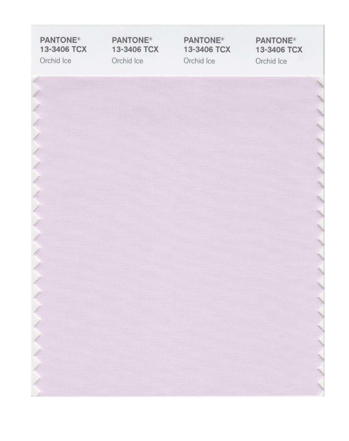 Pantone Smart Swatch 13-3406 Orchid Ice