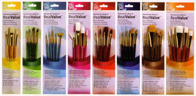 Oils & Acrylic Brush Sets