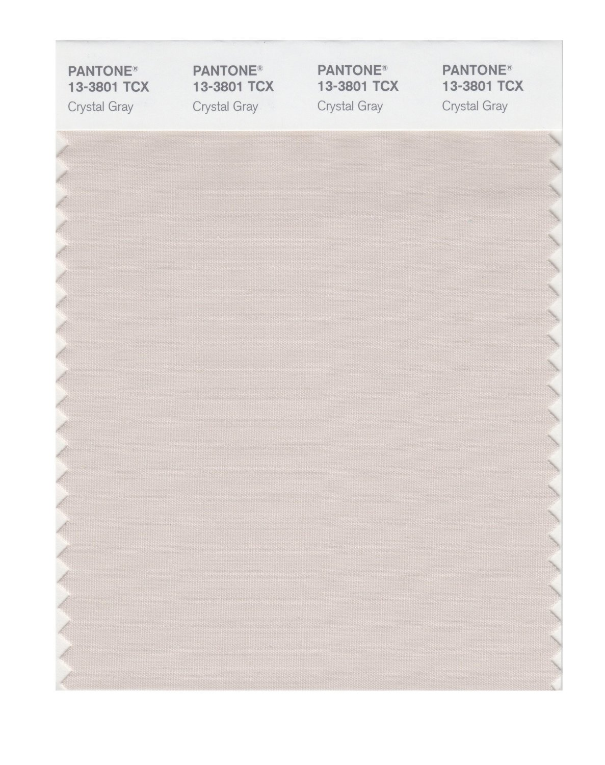 Pantone Smart Swatch 13-3801 Crystal Gray