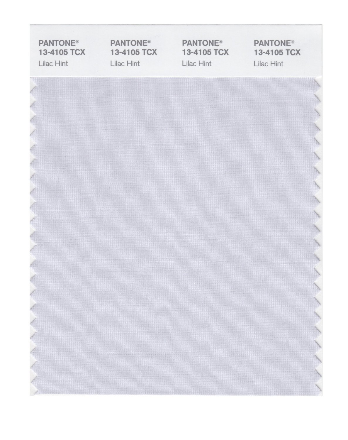 Pantone Smart Swatch 13-4105 Lilac Hint