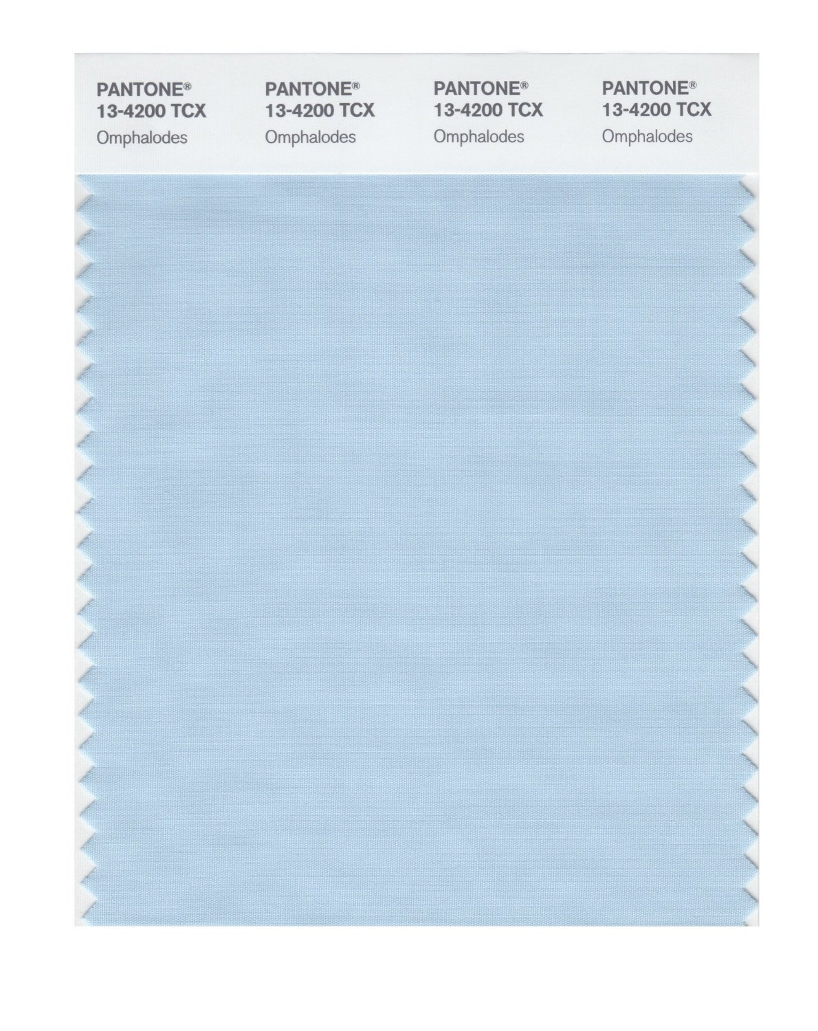 Pantone Smart Swatch 13-4200 Omphalodes