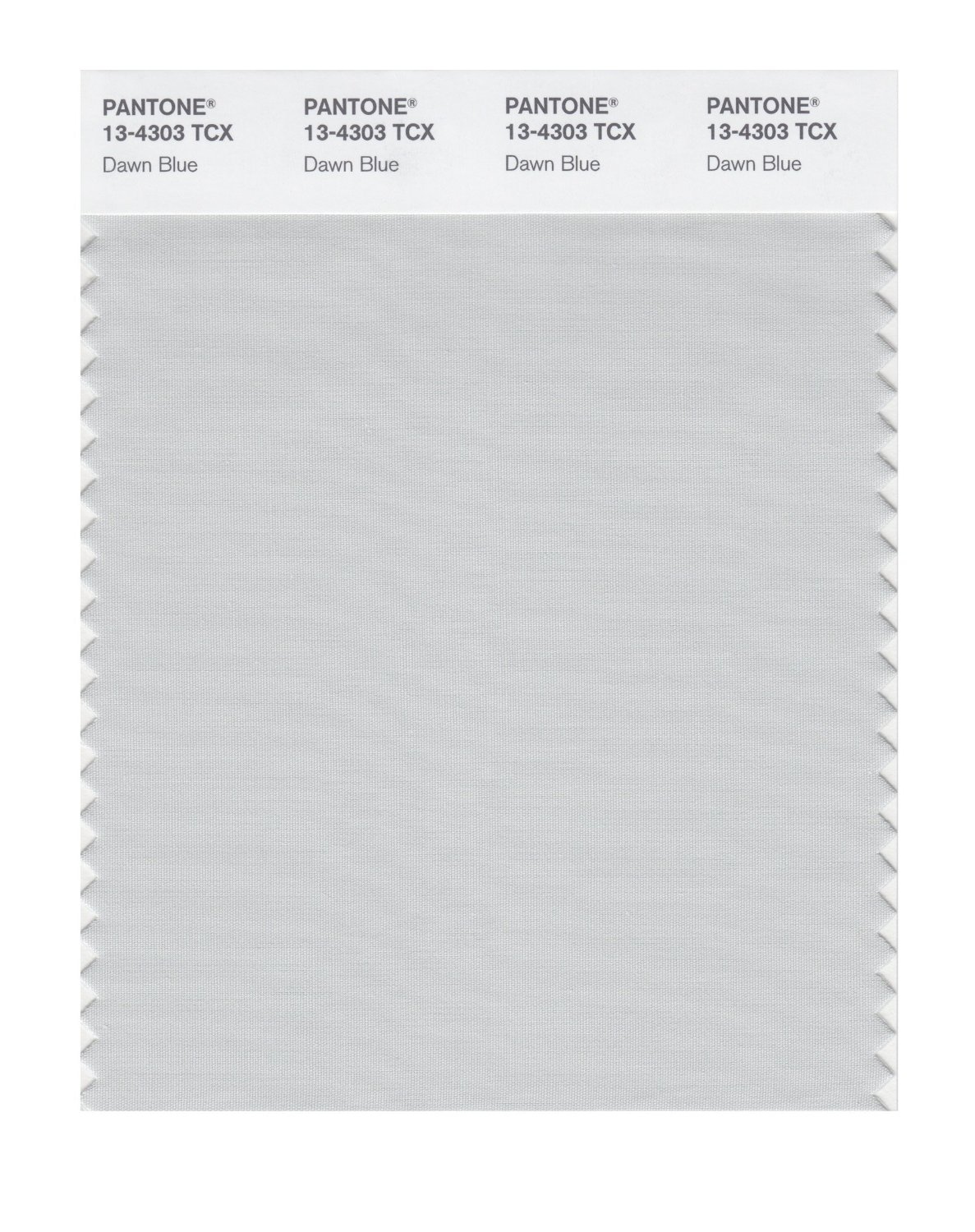 Pantone Smart Swatch 13-4303 Dawn Blue