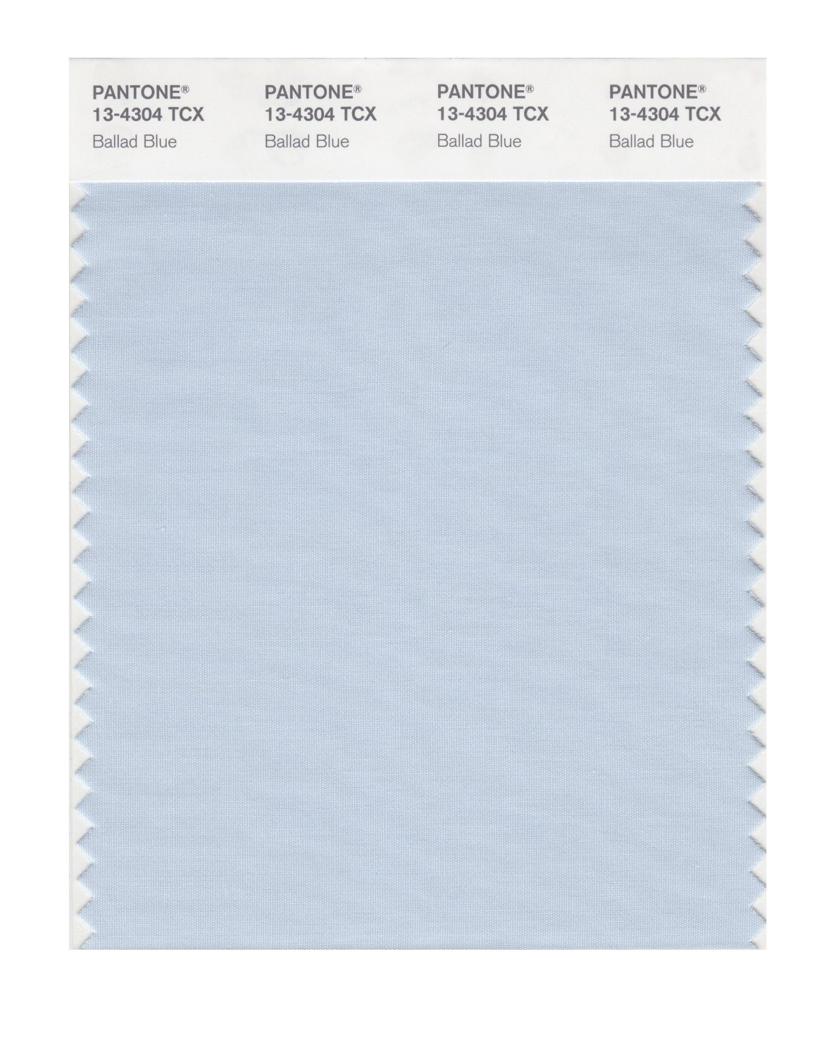 Pantone Smart Swatch 13-4304 Ballad Blue