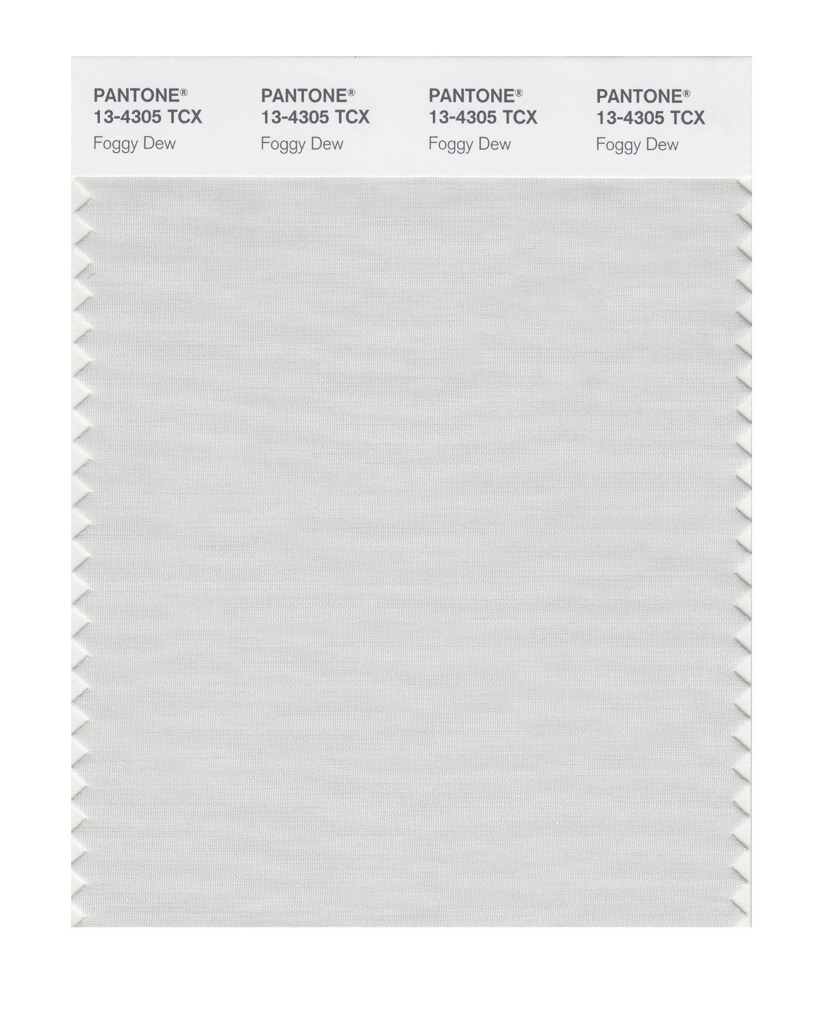 Pantone Smart Swatch 13-4305 Foggy Dew