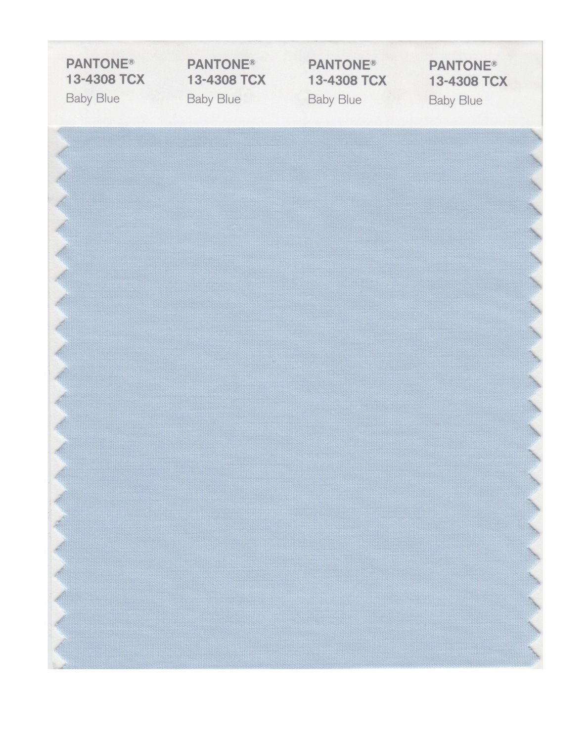 Pantone Smart Swatch 13-4308 Baby Blue
