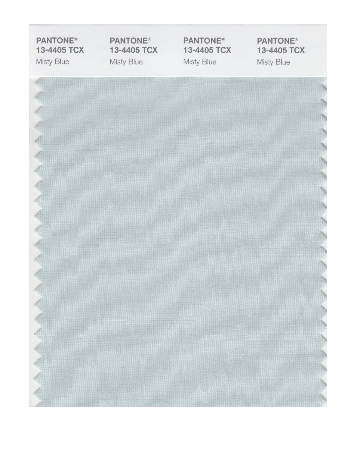 Pantone Smart Swatch 13-4405 Misty Blue