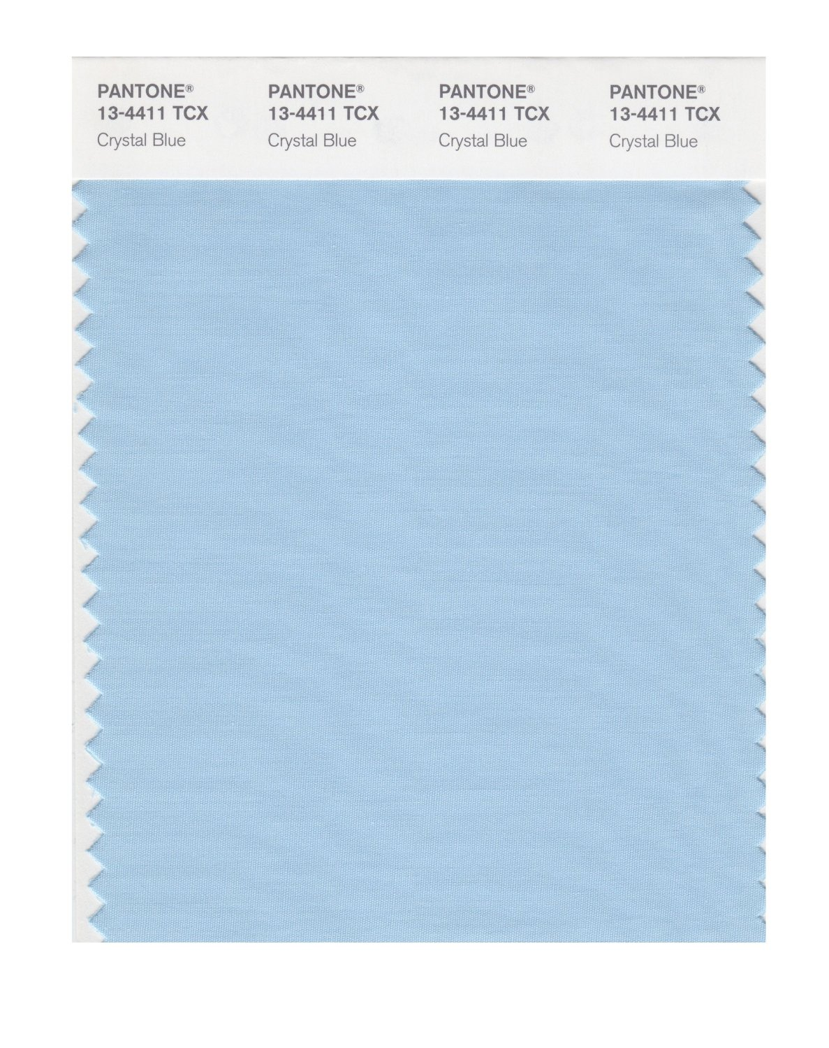 Pantone Smart Swatch 13-4411 Crystal Blue