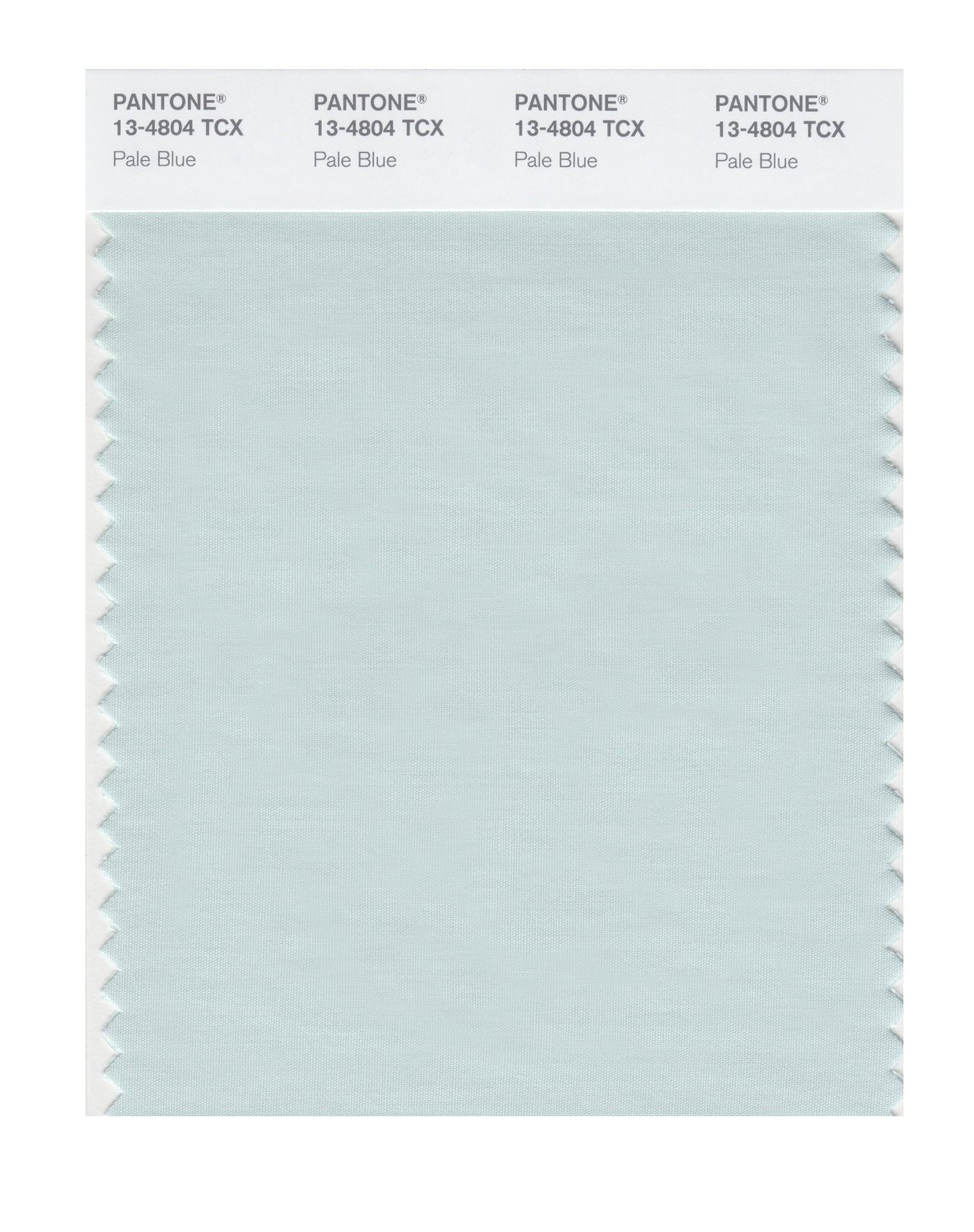 Pantone Smart Swatch 13-4804 Pale Blue