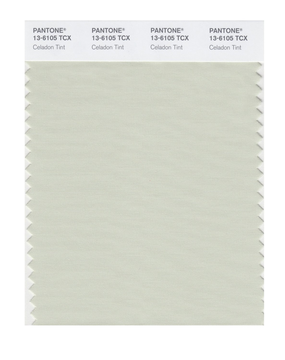 Pantone Smart Swatch 13-6105 Celadon Tint