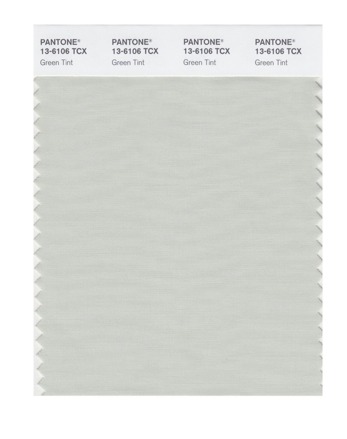 Pantone Smart Swatch 13-6106 Green Tint