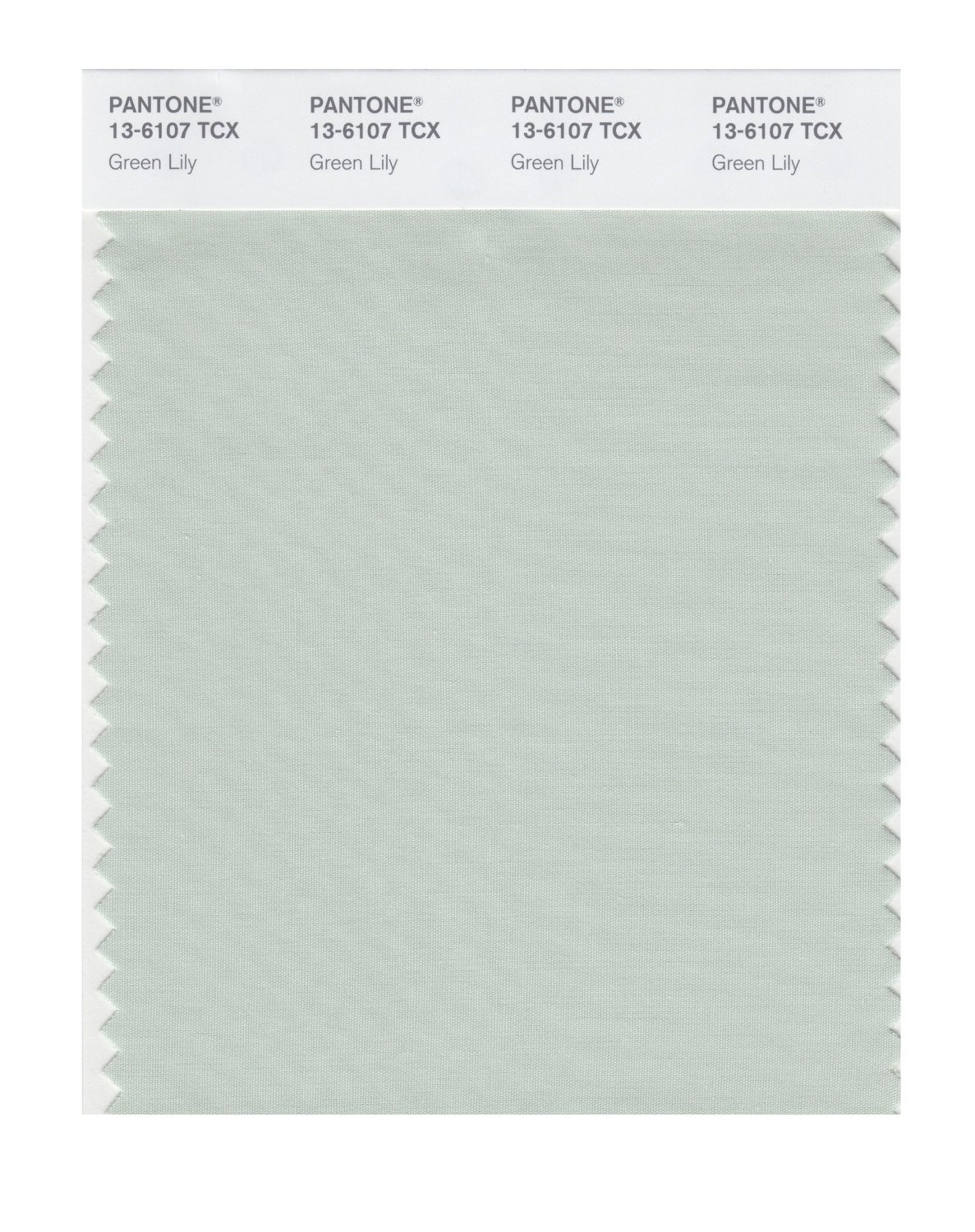 Pantone Smart Swatch 13-6107 Green Lily