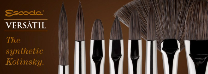 Escoda Versatil Synthetic Kolinsky Sable Brushes