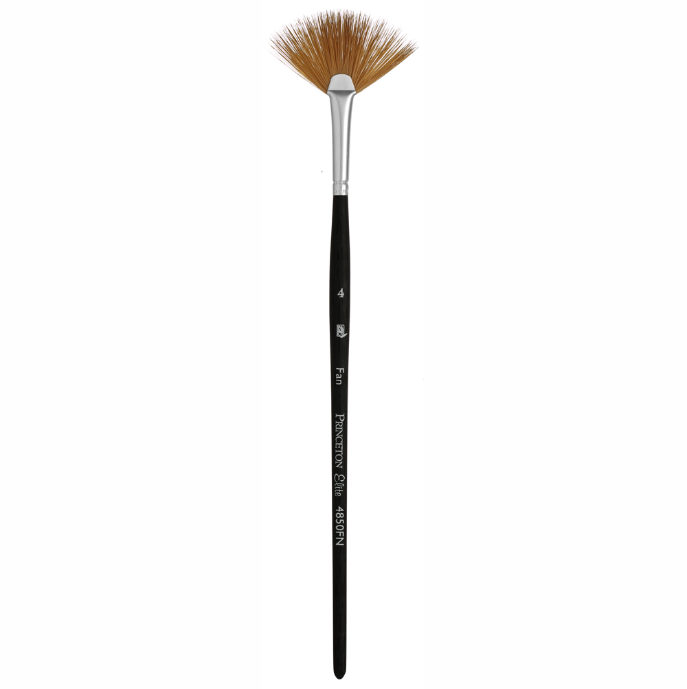 Princeton Elite 4850 Synthetic Kolinsky Fan Brushes