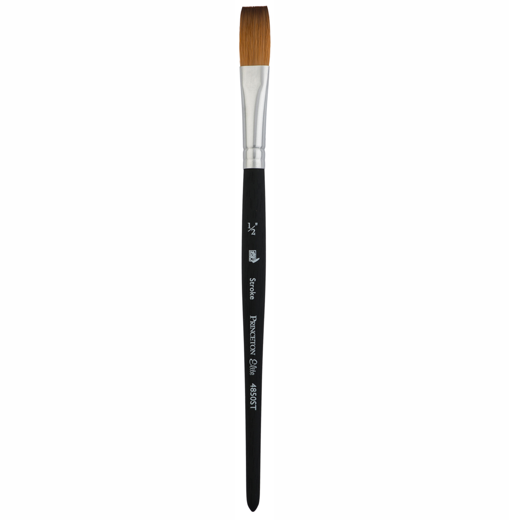 Princeton Elite 4850 Synthetic Kolinsky Stroke Brushes