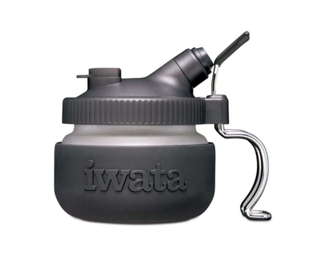 Iwata Fluid Cup//Lid 1//4Oz Sb//Cmsb