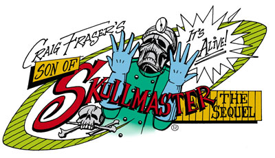 Artool Son of Skullmaster Airbrush Templates