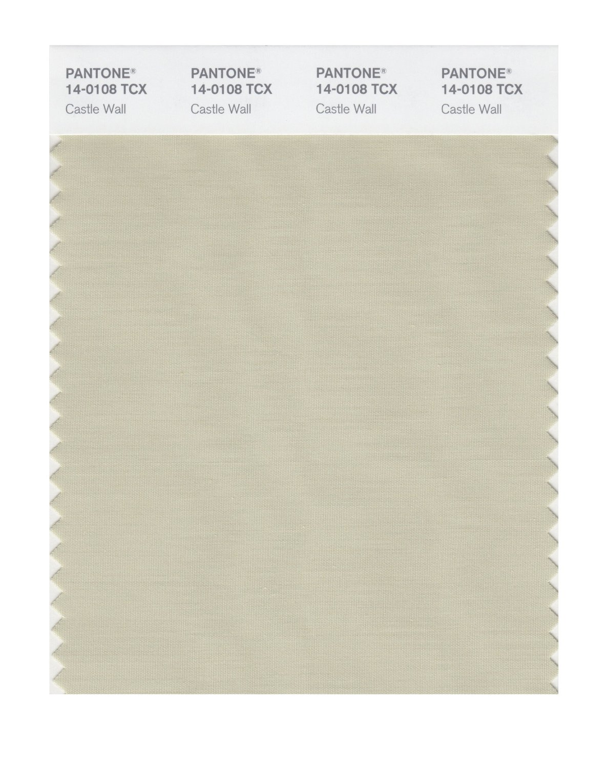 Pantone Smart Swatch 14-0108 Castle Wall